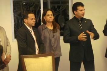 Ricardo Nezinho recebe representantes da Uneal (22-12-2008)