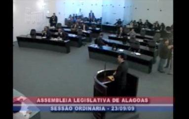 Pronunciamento sobre a TV Assembleia do Piaui .Enviado em 18 de nov de 2009