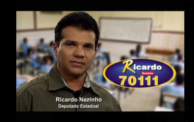 Ricardo fala sobre projeto contra evasão escolar Enviado em 20 de set de 2010