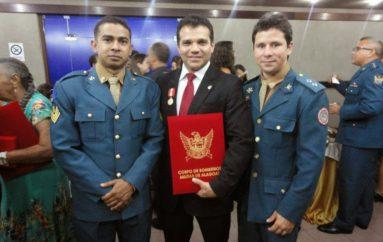 Entrega de Medalhas do Mérito Bombeiro Militar