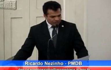 Ricardo afirma que a violência não diminuiu em Alagoas