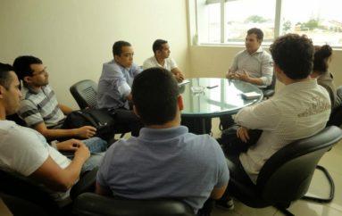 Reunião com os acadêmicos do curso de medicina da UNCISAL