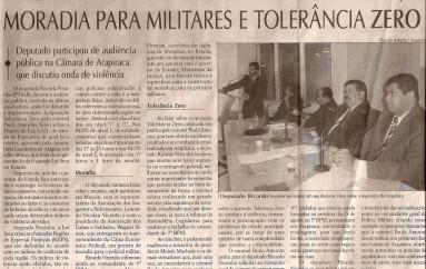 Ricardo Nezinho fala sobre Lei seca, moradia para militares e tolerância zero
