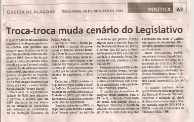 Troca-troca muda cenário do Legislativo