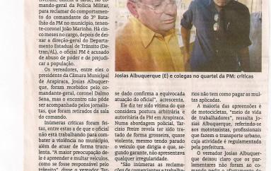 Vereadores reclamam de João Marinho