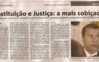 Constituição e Justiça: a mais cobiçada