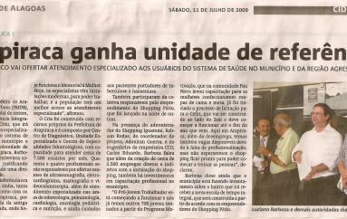 Arapiraca ganha unidade de referência