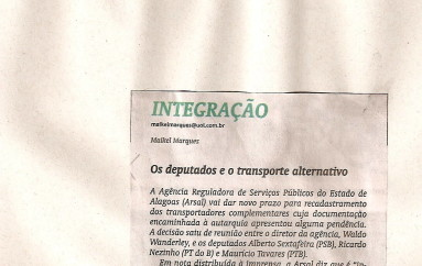 Os deputados e o transporte alternativo