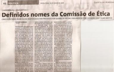 Definidos nomes de Comissão de Ética