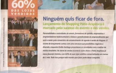 Lançamento do shopping Pátio Arapiraca