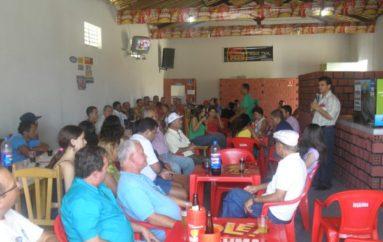 Reunião no povoado Massaranduba