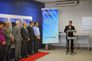 INAUGURAÇÃO DA NOVA AGÊNCIA DA CEF EM ARAPIRACA (04-11-2013)