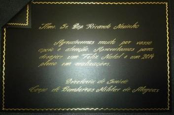 Homenagem da Direção de Saúde Corpo de Bombeiros Militar (10-12-2013)