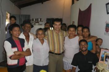 Visitas na cidade de Viçosa (23-07-2006)