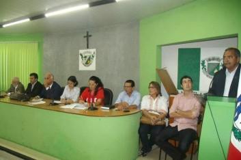 Audiência Pública na Câmara Municipal de Arapiraca (06-04-2013)