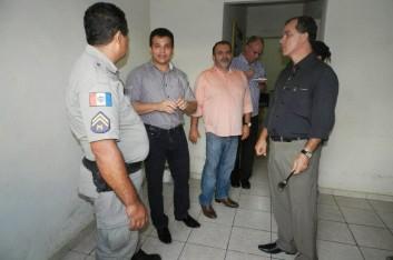 Membros da Comissão Especial(ALE/AL) na cidade de Arapiraca (06-05-2013)