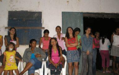 Reunião no povoado Cangandu
