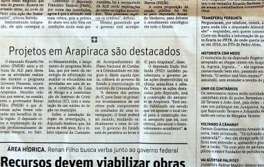 Projetos do 'Governo Presente', em Arapiraca, são destacados