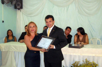 Ricardo recebe Título de Cidadão Honorário de Craíbas-AL (14-06-2011)