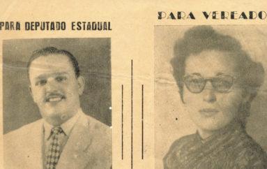 Cartaz da Coligação Democrática de Arapiraca