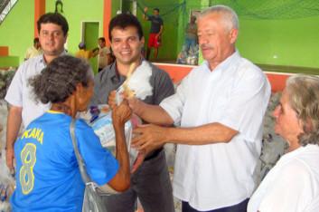 Ricardo participa de evento em Cacimbinhas-AL (31-05-2009)