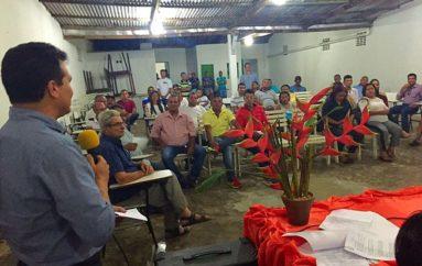 Ricardo participa de reunião solene da Associação de Coqueiro Seco