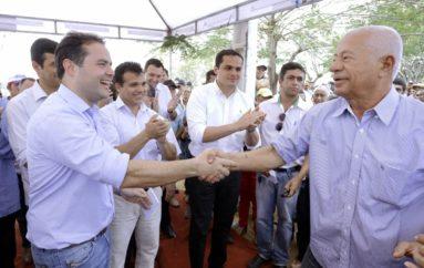 Ricardo Nezinho participa em Cacimbinhas, do lançamento do Programa Água para Todos