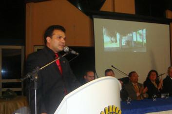 Ricardo participa da posse da diretoria do Rotary Arapiraca (17-07-2009)