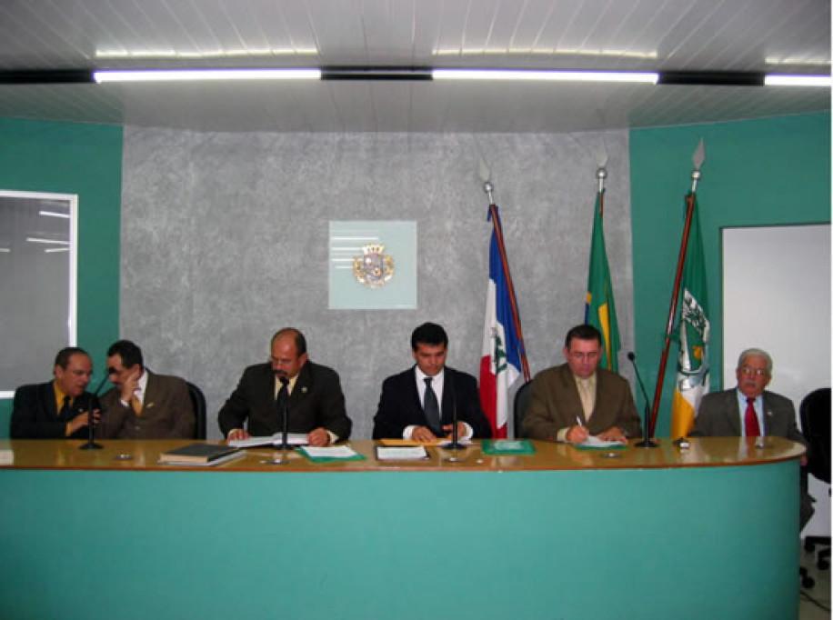 Ricardo apresenta SAPL para MP e OAB de Arapiraca (24-03-2004)