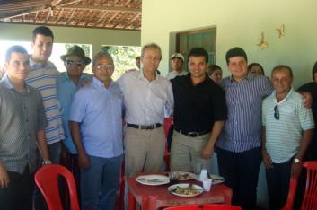 Ricardo participa da emancipação de Cacimbinhas-AL (15-10-2009)