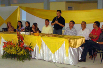 Ricardo participa da Conferência Municipal de Educação de Craíbas-AL (25-09-2009)
