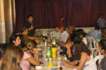 Reunião com lideranças no Galpão Tuta (21-07-2006)