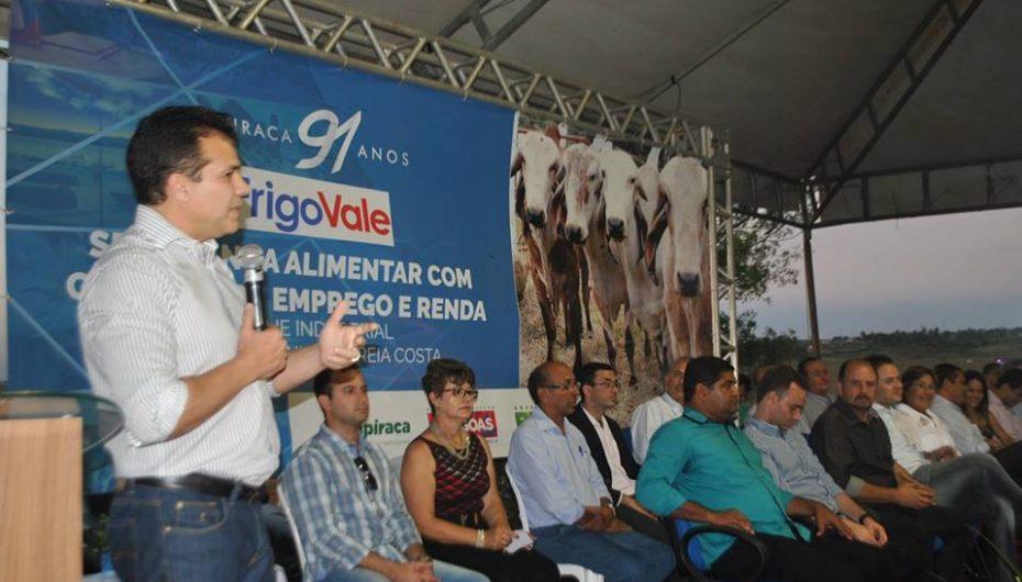 Ricardo participa da inauguração do FrigoVale em Arapiraca