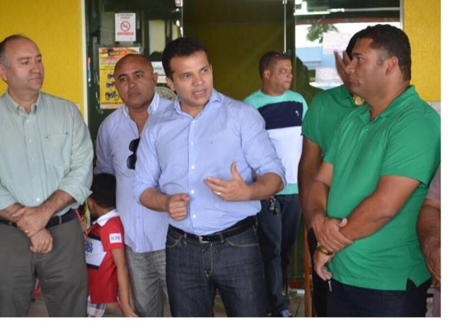 Ricardo participa de evento do Partido Verde-PV  (29-09-2015)