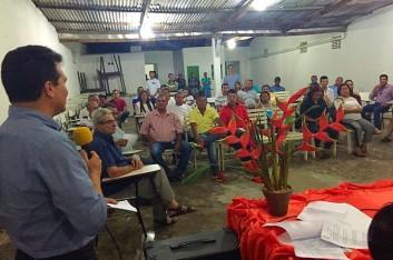 Ricardo participa de reunião na Associação de Coqueiro Seco (19-09-2015)