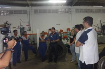 Visitas em Arapiraca (01-10-2014)