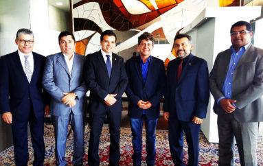Deputado e vereadores vão à Brasília assinar adesão para a instalação de Rádio Câmara