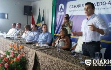 Ricardo Nezinho diz que gasoduto Penedo-Arapiraca vai atrair mais investidores para AL