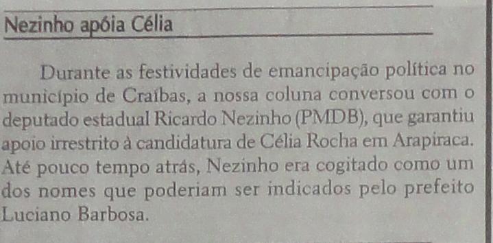 Alagoas em tempo 1- 30-04-12