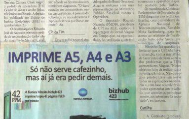 TJ impede TIM de voltar a vender linhas telefônicas em Alagoas