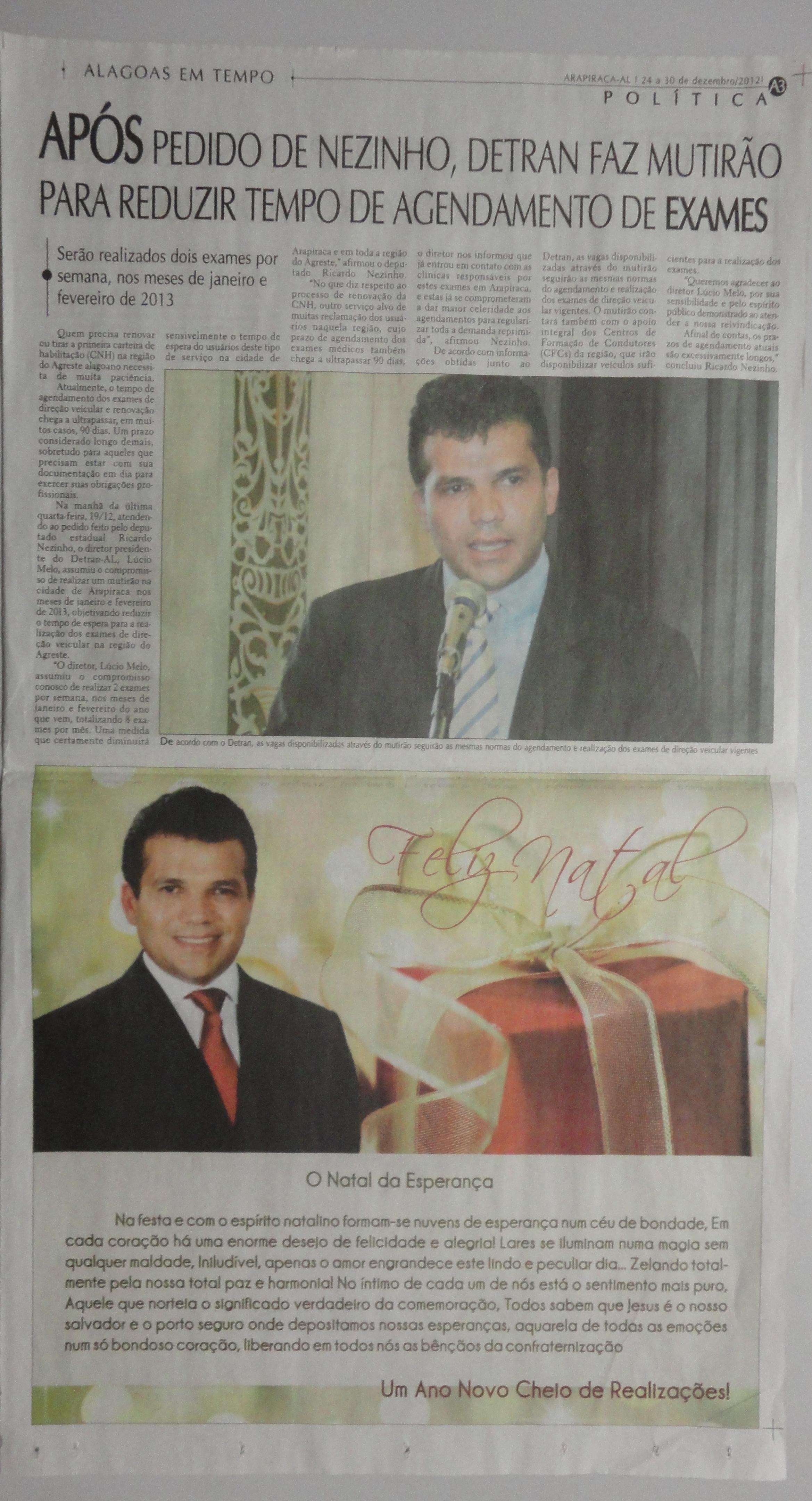 Alagoas em tempo 24 a 30-12-2012