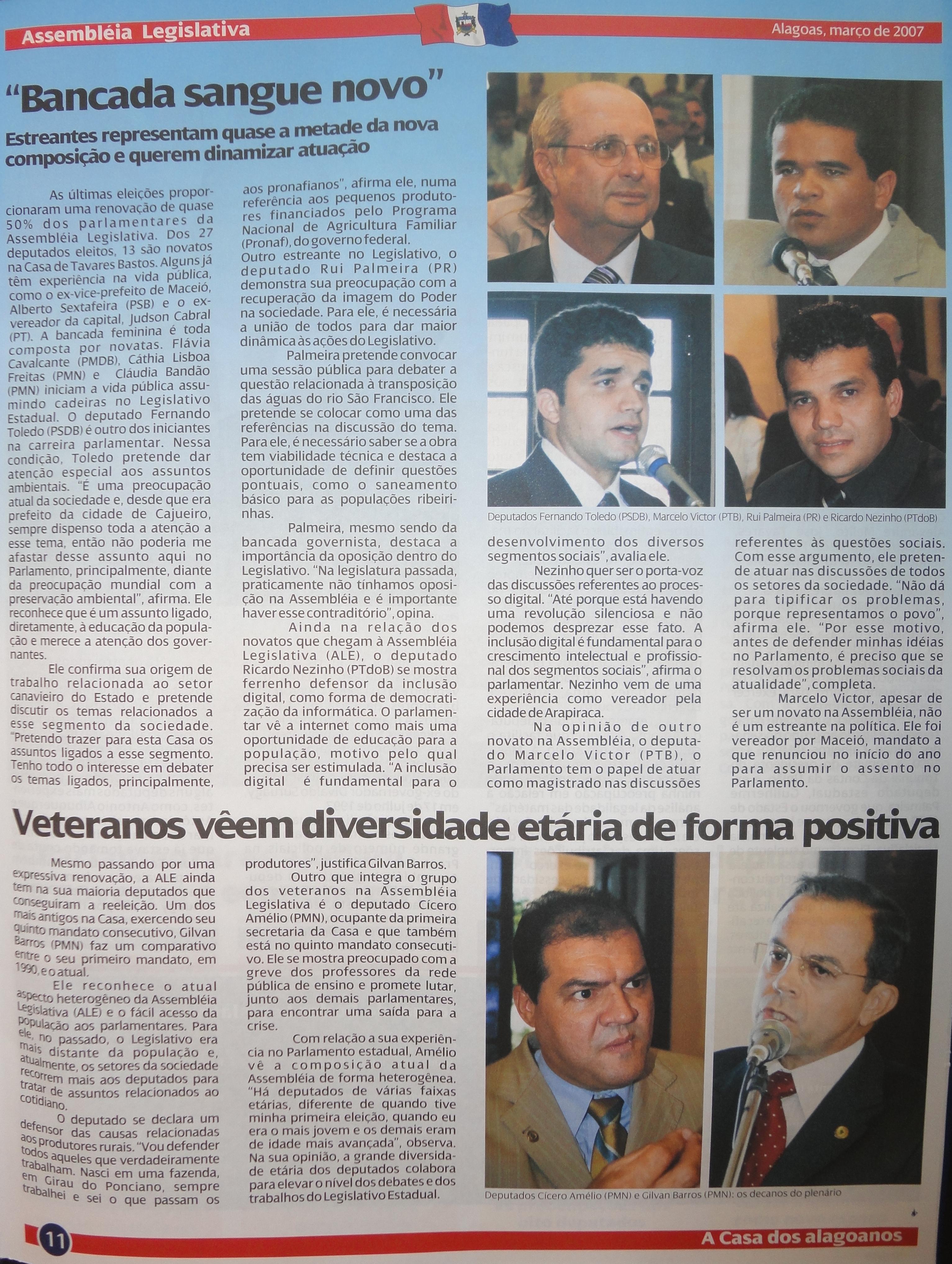 Coleção do Jornal da Assembleia 03-2007.1