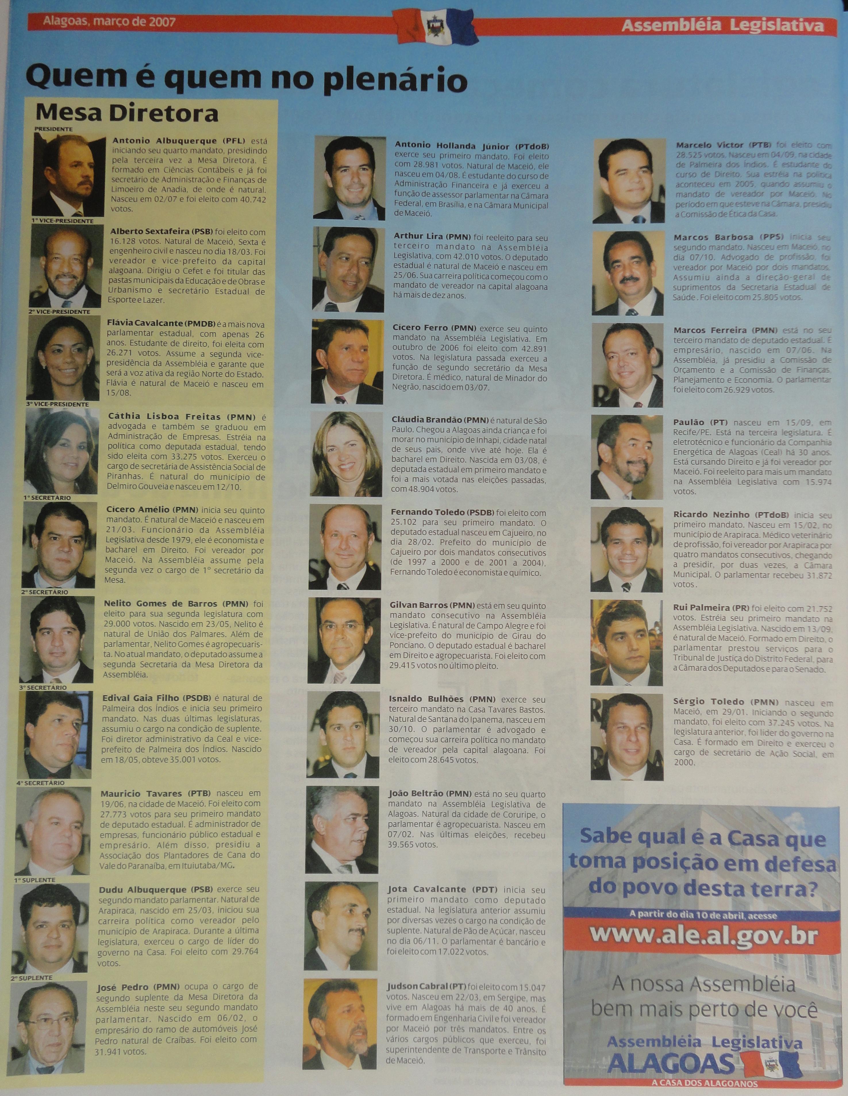 Coleção do Jornal da Assembleia 03-2007.4