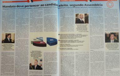 Mandato deve pertencer ao candidato eleito, segundo Assembléia