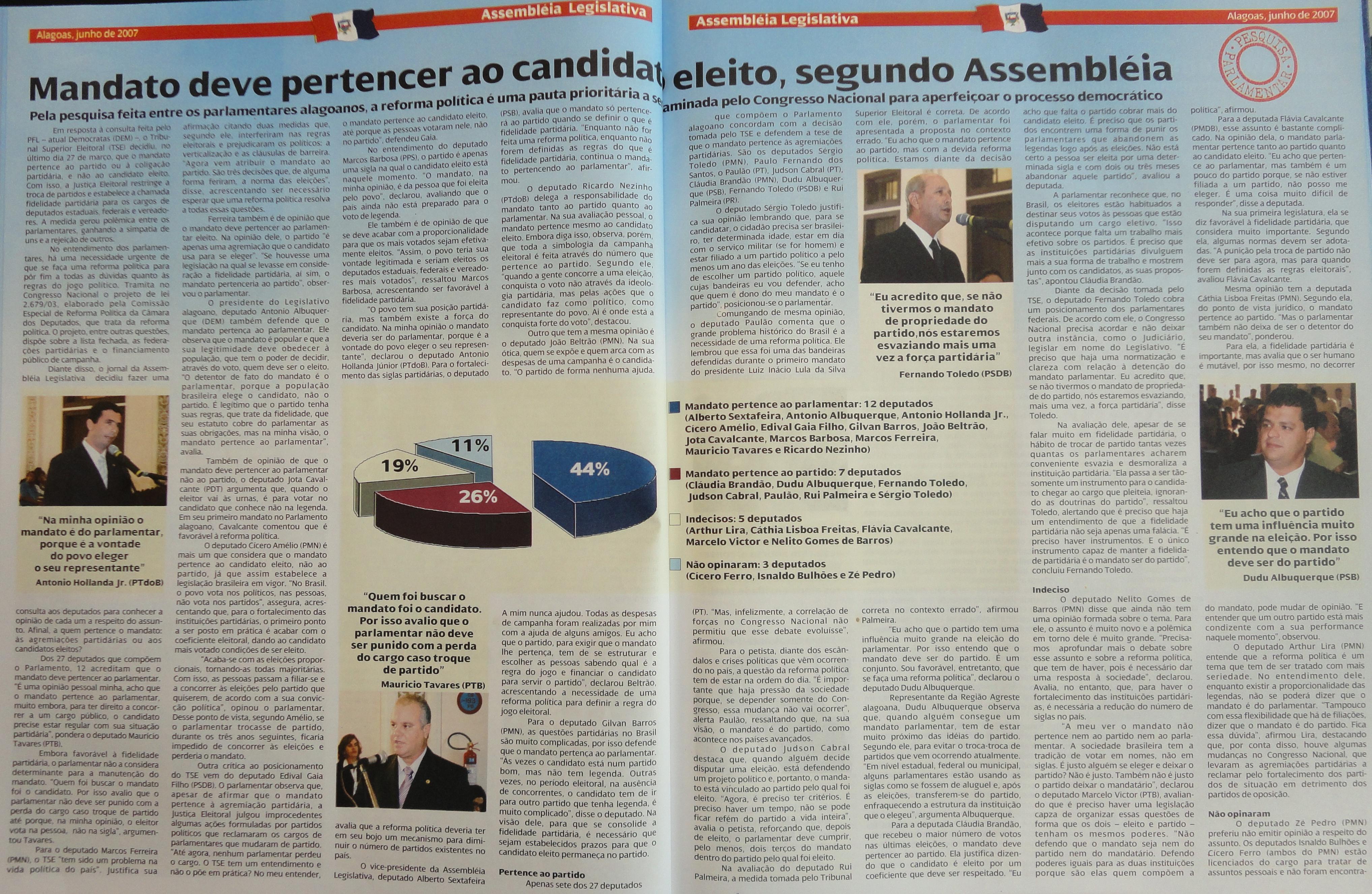 Coleção do Jornal da Assembleia 06-2007-1