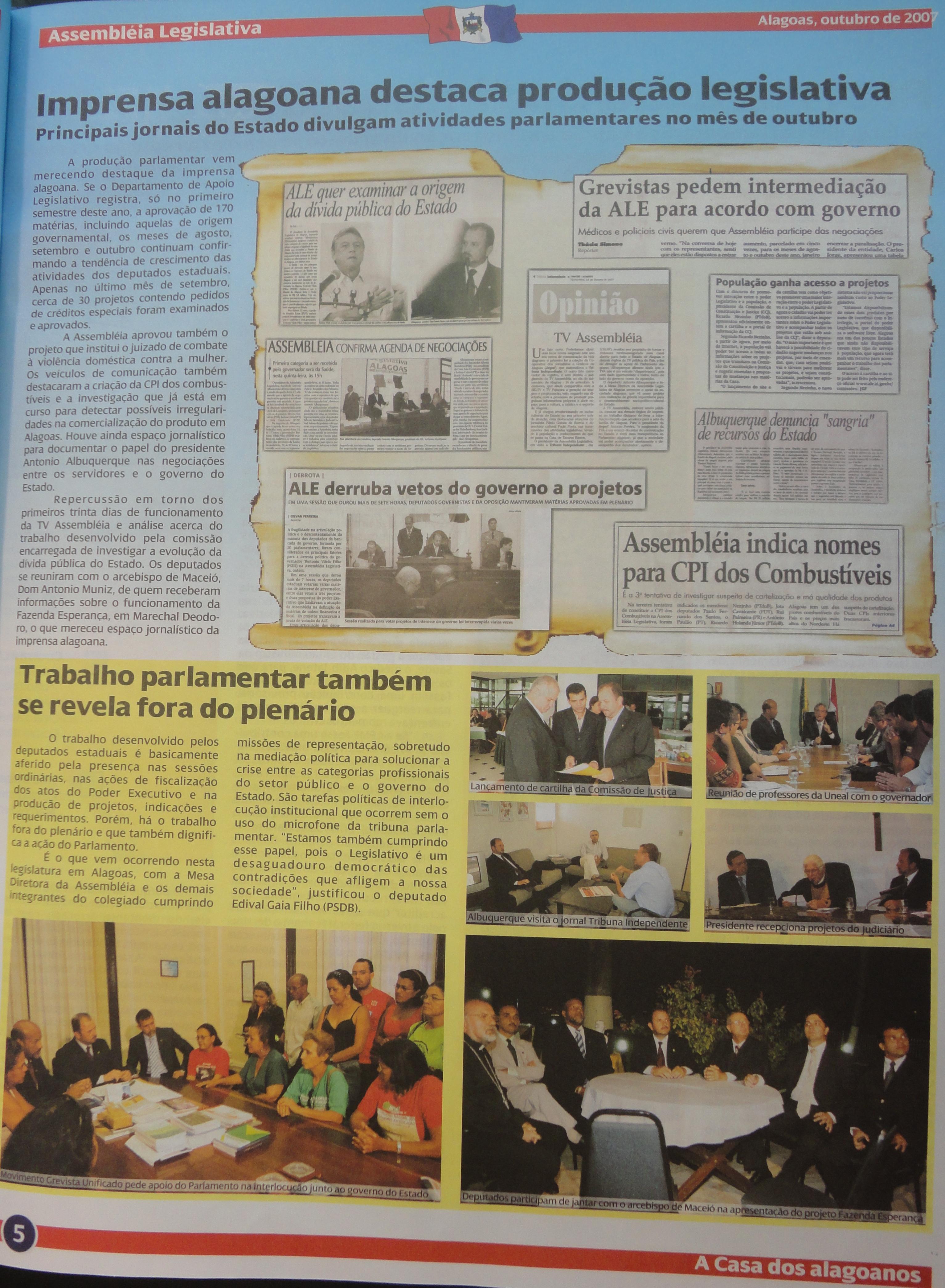 Coleção do Jornal da Assembleia 10-2007-1