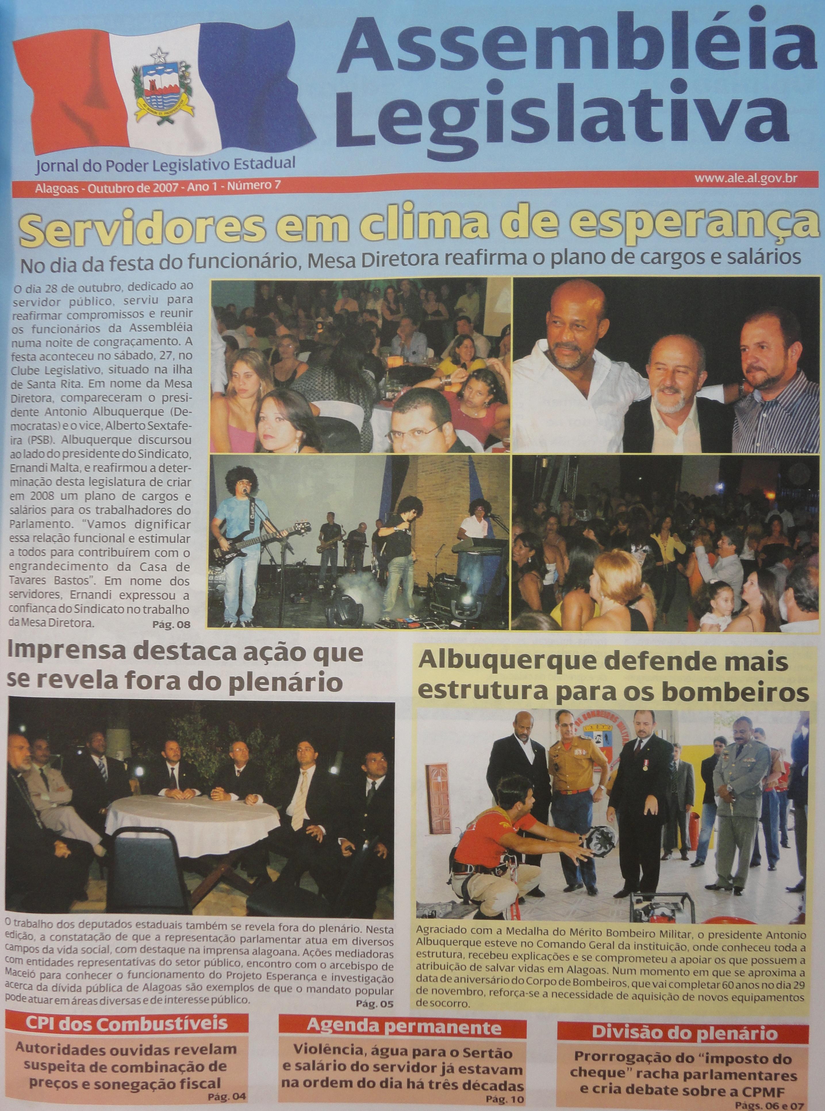 Coleção do Jornal da Assembleia 10-2007