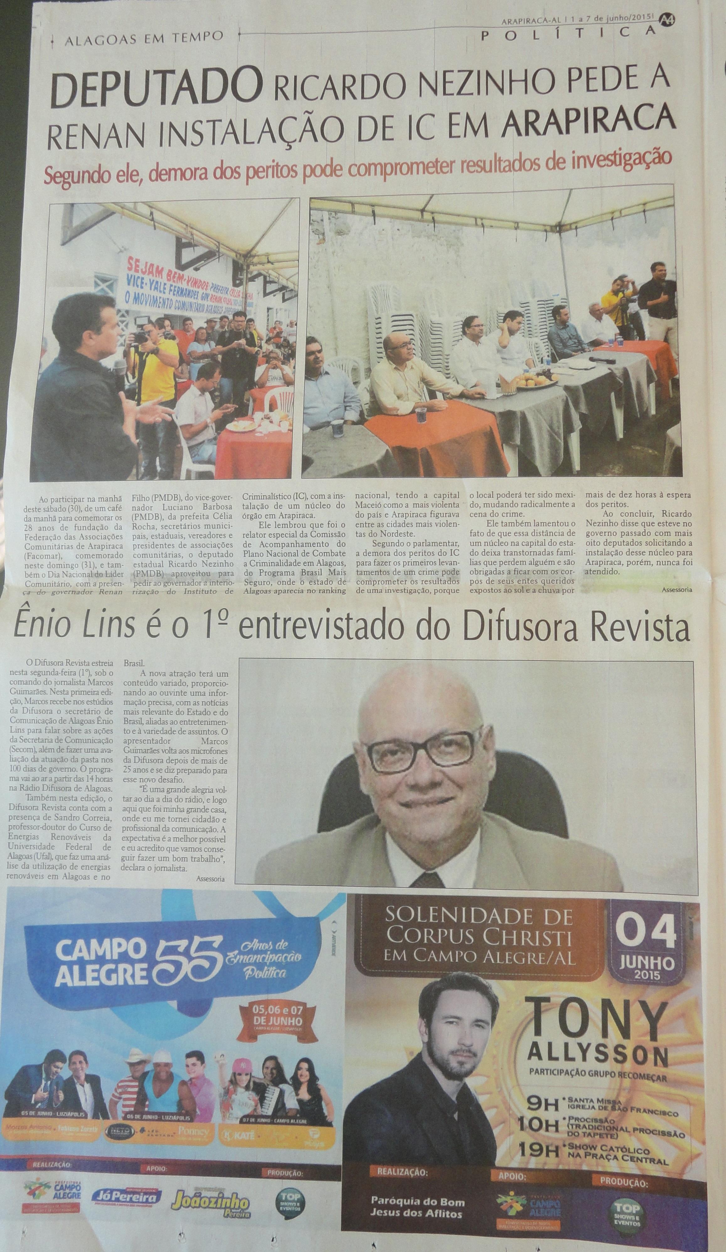 Jornal Alagoas em Tempo-07-06-15