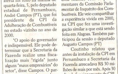 Apoio do Governo é fundamental para CPI dos combustíveis, diz deputado de Pernambuco