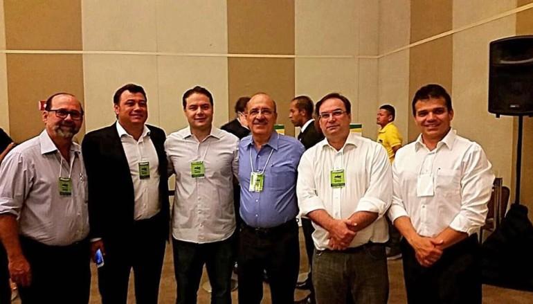 Ricardo participa da Convenção Nacional do PMDB